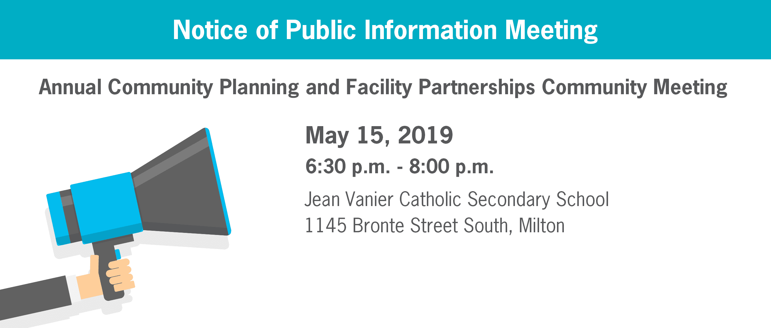 2019 Community Planning & Facility Partnerships Community Meeting